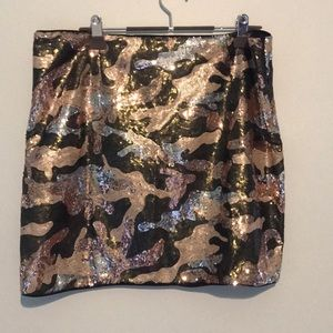NWOT Sequin Mini Skirt!